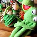 Photos: カエル制作中の日々