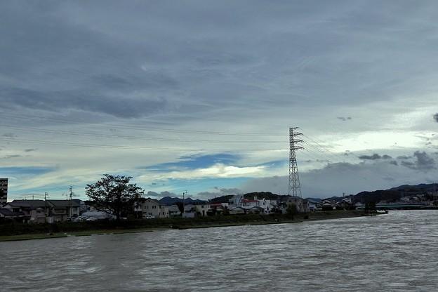 台風12号の朝.7