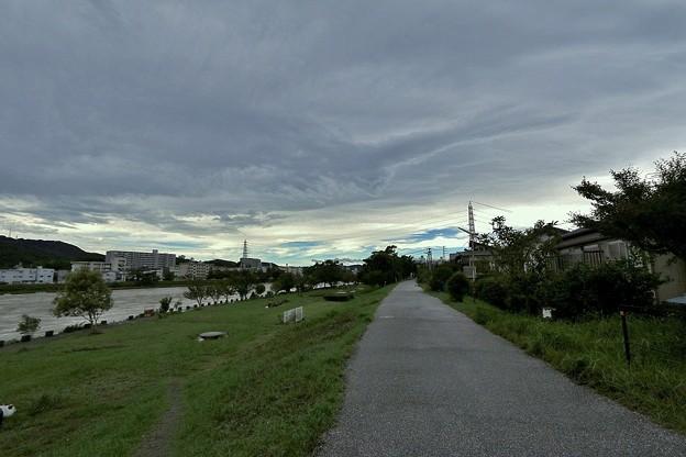 台風12号の朝.1