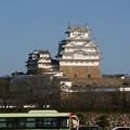 年末の姫路城(1)