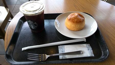 朝食スタバ