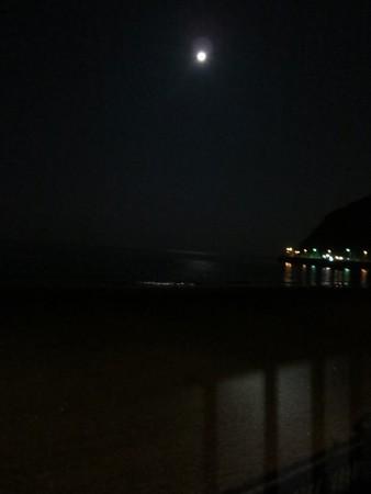 逗子の月明り