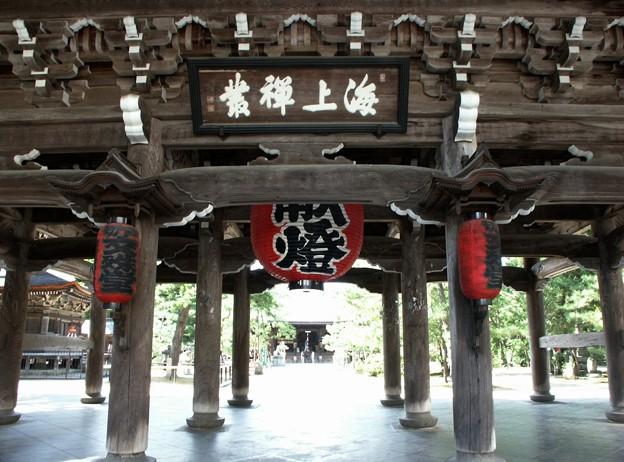 26-京都 天橋立 智恩寺(文殊堂)山門-20020830-10