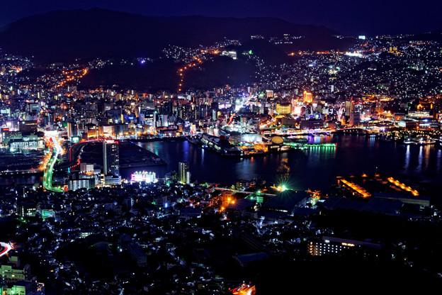 写真: 稲佐山より