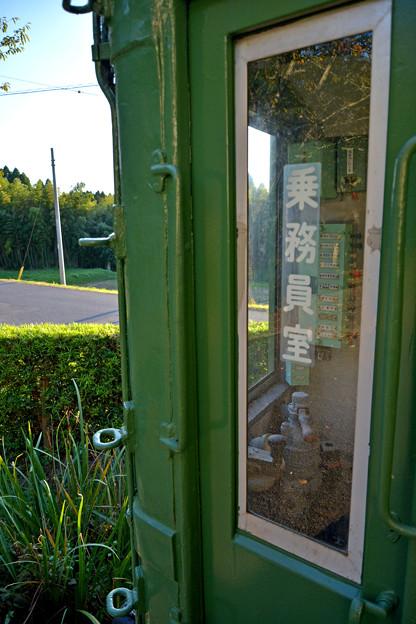 昔の東急池上線車両乗務員室