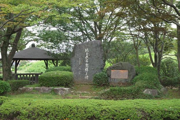 さきたま古墳公園10 埼玉県名発祥之碑