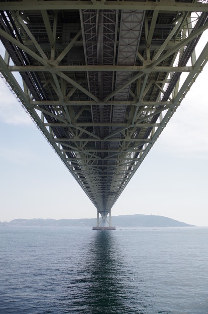 写真: 明石海峡大橋 (5)