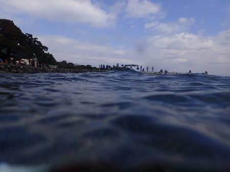 なんかのCM撮影と半水面ってのを撮りたかった(失敗)