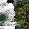 写真: 海蝕