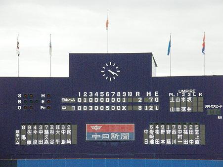 041 この日の試合結果(≧ω≦)b