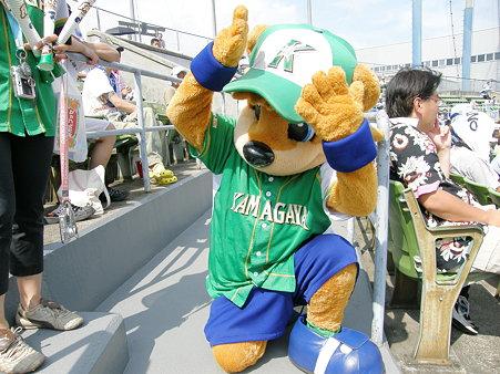 075 って、カビーは鎌ヶ谷の小熊でしたー