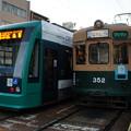Photos: 広島電鉄 5012と352