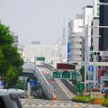 写真: 名古屋駅前(ナナちゃん前)から見えた名古屋テレビ塔 - 1
