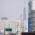 写真: 名古屋駅前(ナナちゃん前)から見えた名古屋テレビ塔 - 3