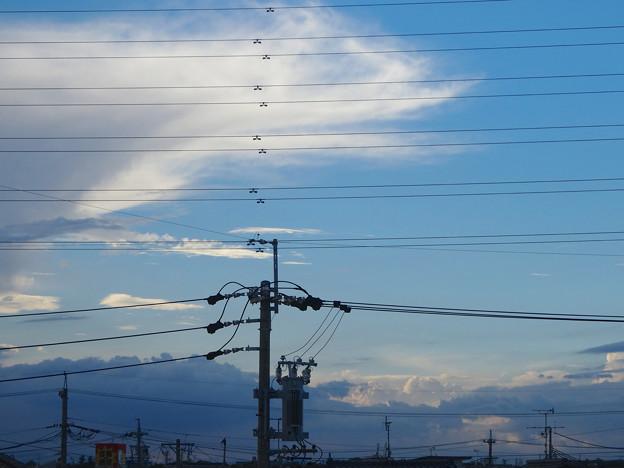 昨日の夕方見かけた、ちょっと変わった雲 - 09