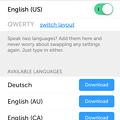 Photos: iOS 8:他社製キーボード「Swiftkey」 - 11(設定アプリ、言語の追加等)