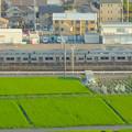 写真: スカイワードあさひ No - 063:展望室からの眺め(名鉄瀬戸線・尾張旭検車区)