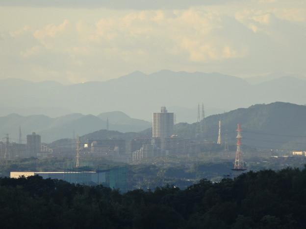 スカイワードあさひ No - 072:天体観測室横からの眺め(桃花台ニュータウンのスカイステージ33)