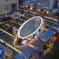 写真: 名古屋テレビ塔からの夜景 No - 15:オアシス21周辺