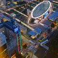 写真: 名古屋テレビ塔からの夜景 No - 16:オアシス21周辺