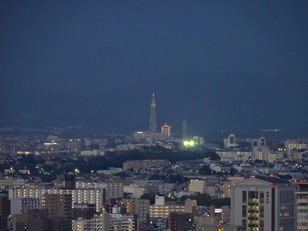 名古屋テレビ塔からの夜景 No - 17:瀬戸デジタルタワー
