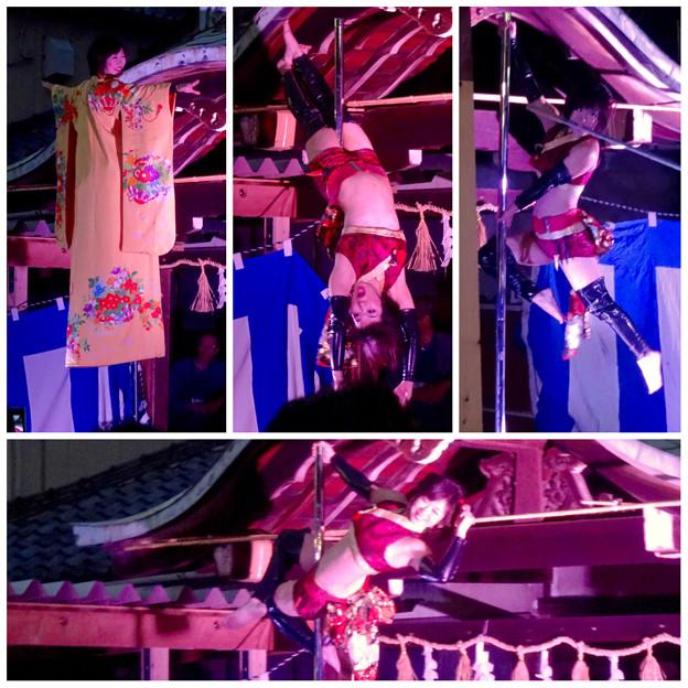 大須大道町人祭 2015 No - 164:ポールダンサー「鷹島姫乃」さんのパフォーマンス