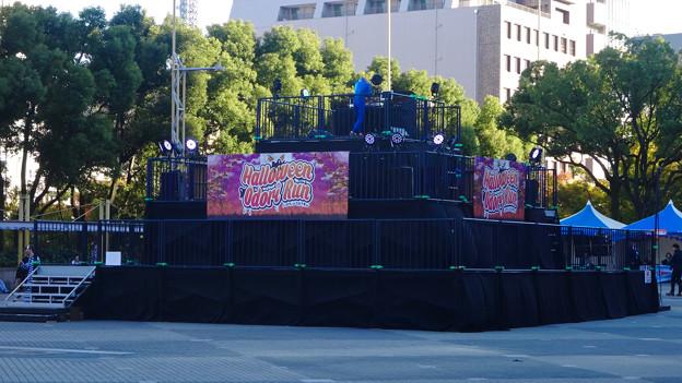 Halloween Odori Run 2015 No - 12:ドラえもんのDJ?