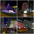 写真: ミッドランドスクエア周辺のクリスマス・イルミネーション 2015 No - 18