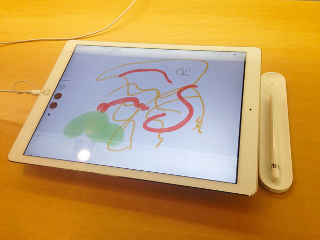 Apple PencilとiPad Pro