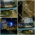 写真: セントラルタワーズから見下ろした、夜の大名古屋ビルヂング - 10
