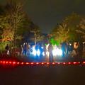 Photos: 東山動植物園 紅葉ライトアップ 2015 No - 90:ズーボのイルミネーション前に集まった人たち