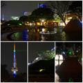 Photos: 名古屋テレビ塔に向けてレーザー光線を出している、久屋大通公園噴水のピラミッド - 7