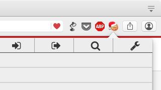 Cookieの追加・編集・削除等ができるOpera拡張「EditThisCookie」- 6:サンタ帽の有無は設定でオンオフ可能
