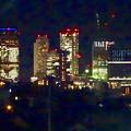 写真: 吉根橋から見た、夜の名駅ビル群 - 2