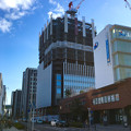 写真: ささしまライブ24:建設途中の複合施設「グローバルゲート」 - 7