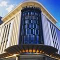 写真: ささしまライブ24:ストリングスホテル名古屋の入口上部 - 1