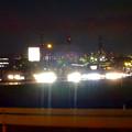 写真: 日没後、沢山の車が走る国道19号(春日井市内) - 2
