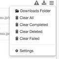 Photos: Opera風のダウンロード管理機能を実現するChrome拡張「Download Manager」- 2