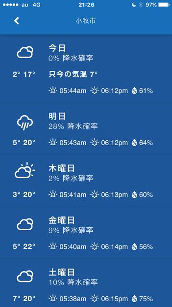 雨雲の位置や雨量、風向き等々を知る事ができるアプリ「気象庁レーダー」- 7