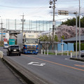 写真: 事故が多い(?)尾張東部聖苑(潮見坂墓園)入口の交差点 - 3