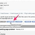 Photos: Vivaldi公式フォーラム:メール通知を始めるには「SUBSCRIBE」ボタンをクリック