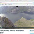 写真: Opera 37:動画のポップアップ表示機能を搭載 - 6(動画最上部にポップアップボタン、Vimeo)