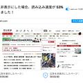 写真: Opera 37の広告ブロック機能の表示速度比較(朝日新聞)