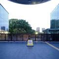写真: 閉館後の名古屋市科学館正面入口 - 1