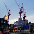 写真: 新しい建物を建設中の御園座(夜) - 3