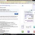 写真: Chromeエクステンション:Status-bar Calculator