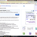 Photos: Chromeエクステンション:Status-bar Calculator