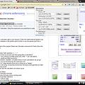 写真: Chromeエクステンション:Status-bar Calculator(more)