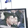写真: 東芝×パナソニック_ラグビー_トップリーグ_2015年度_山田選手_パナソニック_電光掲示板