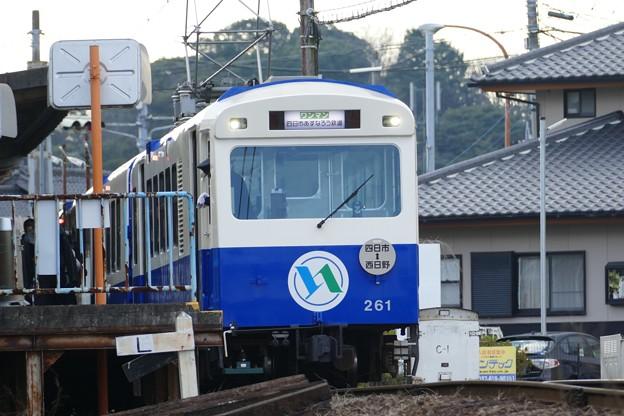 四日市あすなろう鉄道 モ261 八王子線 西日野駅